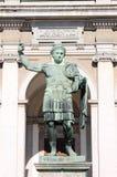статуя императора constantine Стоковые Фотографии RF