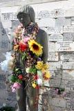 статуя индейцев Чили к Стоковое Изображение RF