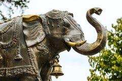 Статуя индийского слона стоковая фотография