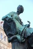 Статуя иносказания - вена - Австрия Стоковое Изображение