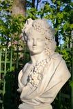 Статуя иносказания осени (Bacchus) Стоковое фото RF