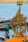 Статуя индийского бога Shiva Nataraja танцев стоковая фотография