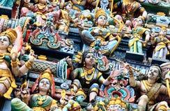 Статуя индусского виска Стоковая Фотография RF
