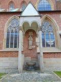 Статуя Иоанна Крестителя Стоковое Фото