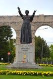 Статуя Иоанна Павел II John Paul II стоковое фото rf