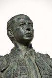 статуя испанского языка матадора стоковая фотография