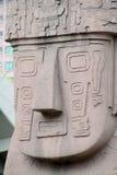 Статуя идола от Tiwanaku Стоковое Изображение RF