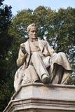 Статуя камня Pietro Paleocapa, город Венеции, Италия Стоковые Фотографии RF