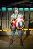 Статуя капитана Америка Стоковое фото RF