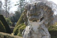 Статуя китайского дракона Стоковые Фото