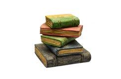 Статуя книги на изолированный Стоковые Изображения