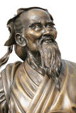 статуя Конфуция Стоковая Фотография