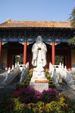 Статуя Конфуция Стоковое фото RF
