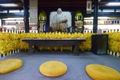 статуя Конфуция Стоковое Фото