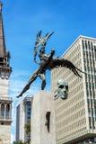 Статуя кондора Bolivar Стоковая Фотография