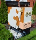 Статуя коровы Стоковое фото RF