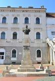 Статуя короля Decebal Стоковое Изображение RF