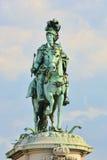 статуя короля i jose стоковая фотография