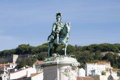 статуя короля jose Стоковое Фото