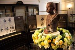 Статуя короля Chulalongkorn Rama v Стоковое Изображение RF