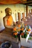 Статуя короля Jayavaraman VII Стоковые Изображения