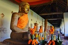 Статуя короля Jayavaraman VII Стоковые Фото