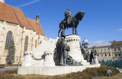 Статуя короля Matthias Стоковое Изображение RF