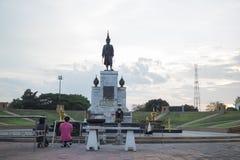 Статуя короля Narai Стоковая Фотография RF