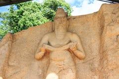 Статуя короля Parakramabahu Стоковое фото RF