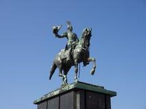 Статуя короля Willem II Стоковые Изображения RF