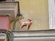 Статуя кота Стоковые Фото
