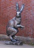 Статуя кролика в Sankt Петербурге Стоковое Фото