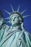 Статуя крупного плана вольности Стоковые Фото