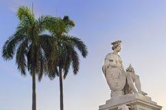 статуя ладоней havana королевская Стоковые Фотографии RF