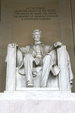 Статуя Линкольна Стоковая Фотография RF