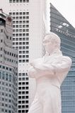 Статуя лотерей господина Stamford на районе приземления лотерей, шлюпке Qua стоковая фотография rf