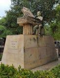 статуя Луис a Calvo (колумбийский музыкант) Стоковые Изображения RF