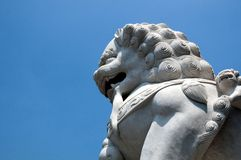статуя льва Стоковое фото RF