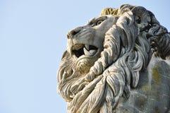 статуя льва Стоковая Фотография RF