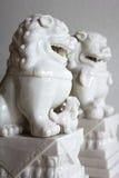 Статуя льва. Стоковое Изображение