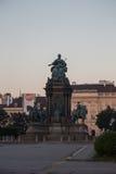 Статуя Марии Терезы в музеях Quartier, вене, Австрии Стоковая Фотография