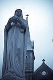 статуя мати mary Стоковые Фото