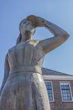 Статуя маленькой дамы Stavoren Стоковая Фотография