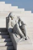 Статуя, мемориал Vimy в Франции Стоковые Изображения RF