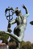 Статуя Меркурия стоковое изображение