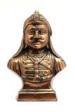 Статуя металла pratap maharan стоковые фото