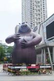 Статуя медведя Стоковые Фотографии RF