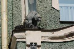 Статуя медведя Стоковое Изображение RF