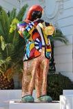 Статуя мозаики трубача Стоковые Изображения RF