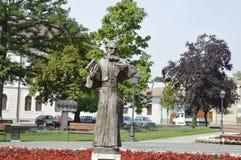 Статуя монаха Стоковая Фотография RF